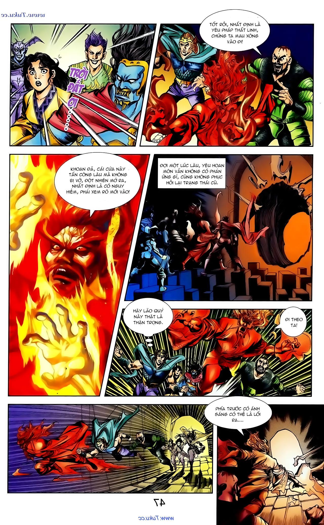 Cơ Phát Khai Chu Bản chapter 100 trang 14