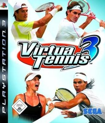 virtuatennis3ps3 - Download Virtua Tennis 3 [MULTI5] PS3