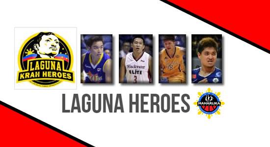 LIST: Laguna Heroes Roster 2018 MPBL Anta Datu Cup