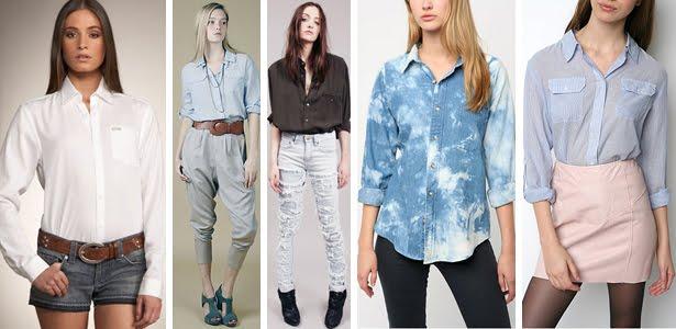 cc88517d90 Besteirinhas Finas  Camisas Sociais Femininas!!!