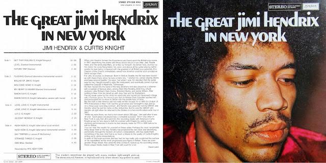 a6d6b81b7 Jimi Hendrix   Curtis Knight - The Great Jimi Hendrix In New York. Original  Doppel-LP 1968