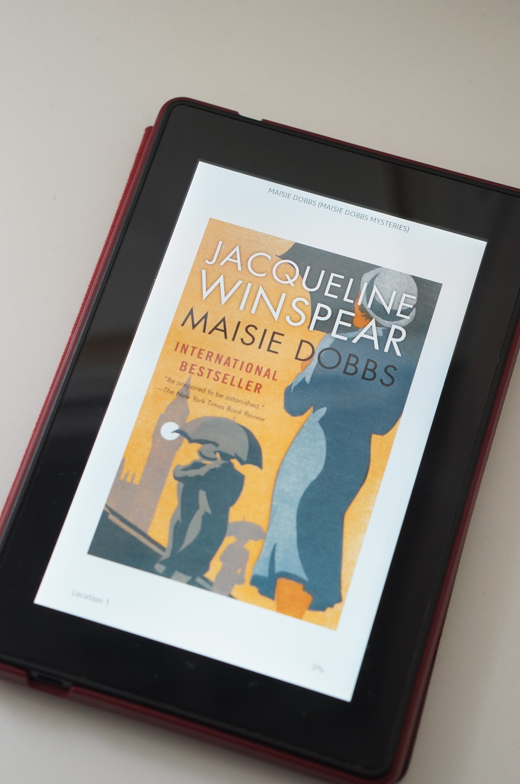 Rebecca Lately Rebecca Reads Maisie Dobbs Review