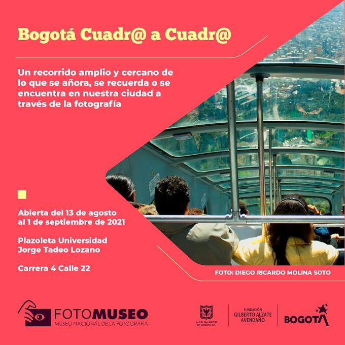 Exposición Bogotá cuadr@ a cuadr@