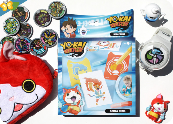 Spray Pens Yo-kai Watch