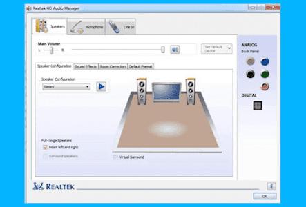 Aplikasi Realtek HD Audio Manager