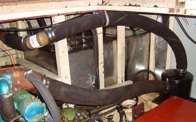 GrandBanks starbord fueltank
