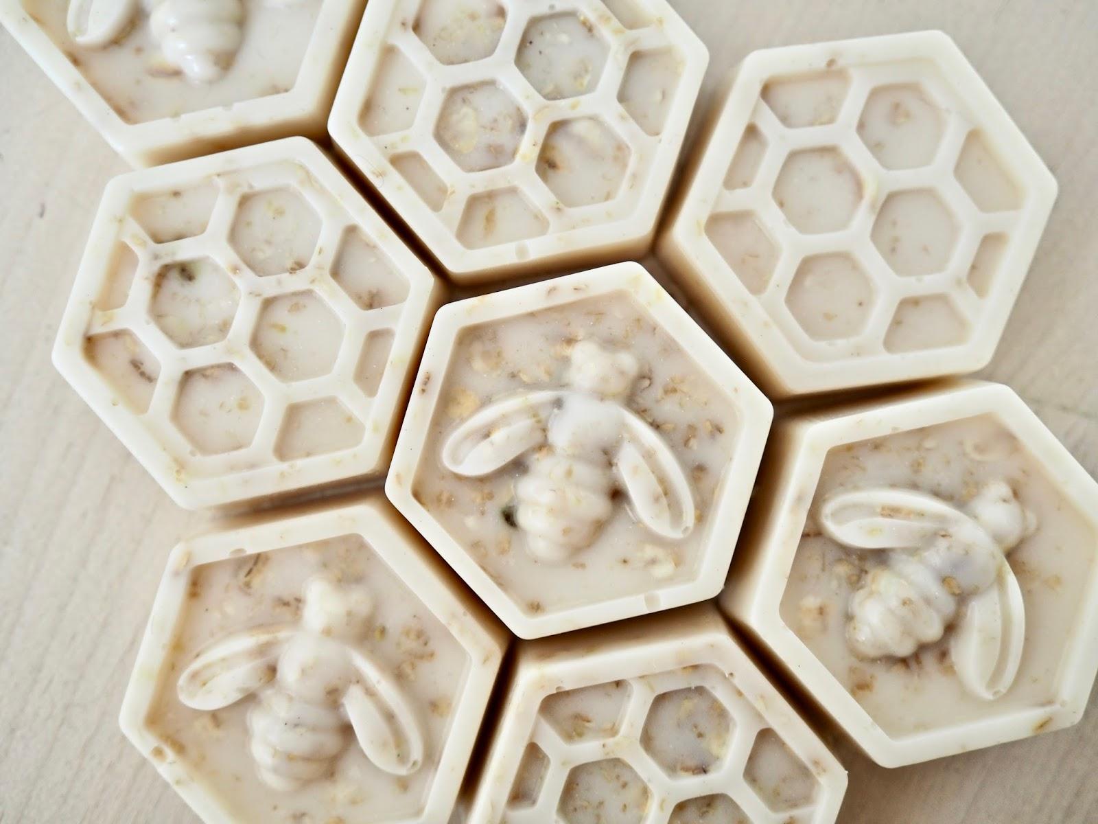 handmade soap honey and oatmeal