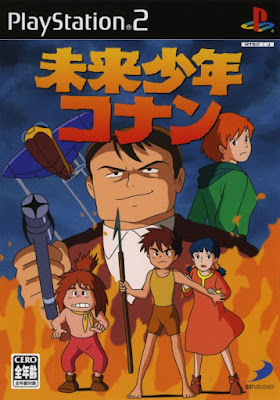 Video Games: Future Boy Conan on Playstation 2