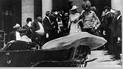 Terbunuhnya putra mahkota Austria Frans Ferdinand - pustakapengetahuan.com
