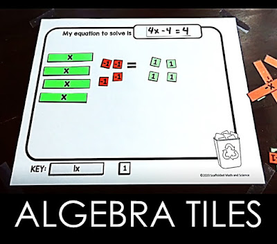 algebra tiles tutorial video and resources