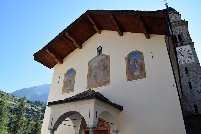 Cogne - La parrocchiale dedicata a Sant'Orso