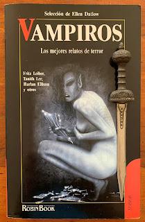 Portada del libro Vampiros, de varios autores
