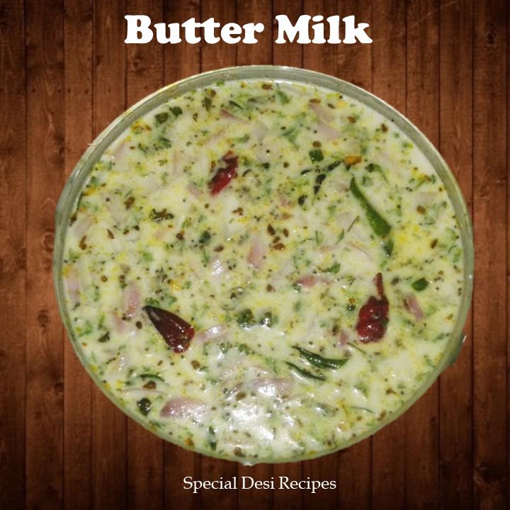 butter milk special desi recipes