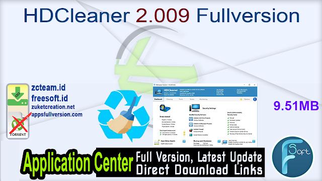 HDCleaner 2.009 Fullversion