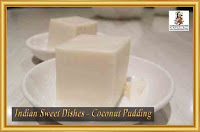 Indian-Sweet-Dishes-Coconut-Pudding