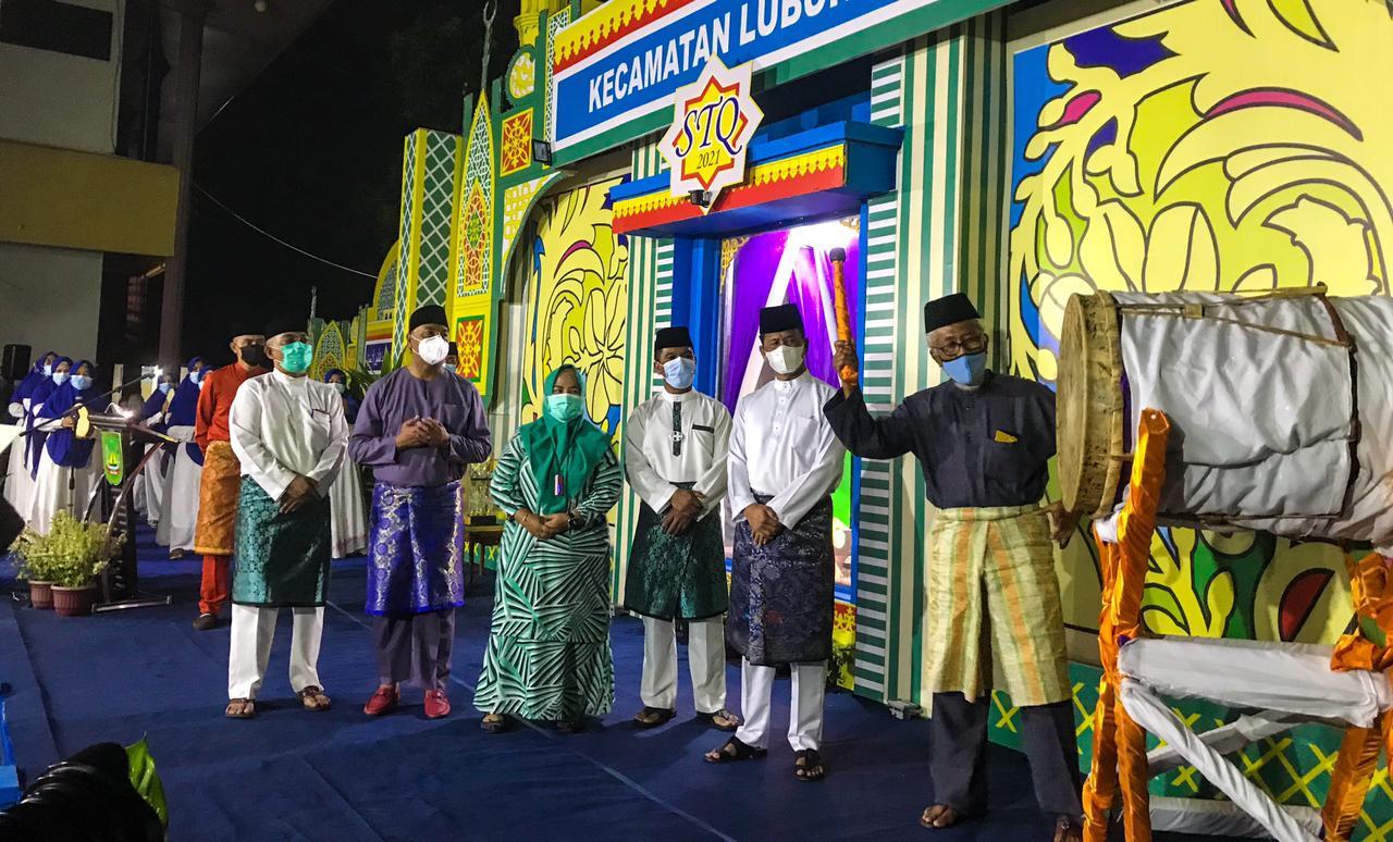 Walikota Batam Membuka STQ Tingkat Kecamatan Lubukbaja
