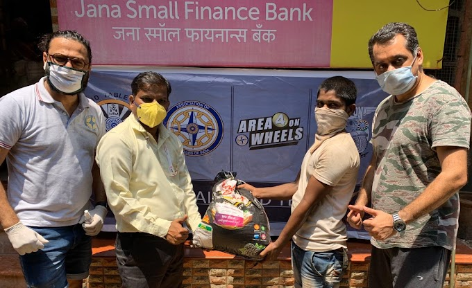 41 Clubs of India & Jana Small Finance Bank distributes food packets to 50,000 affected people per week