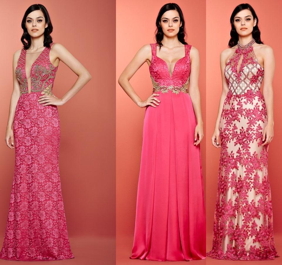 Bolsa De Festa Para Vestido Rosa : Vestidos de festa cor rosa madrinhas casamento