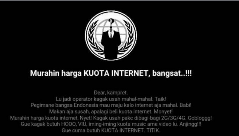 Website Resmi Telkomsel Di-HACK - BeHangat.Net