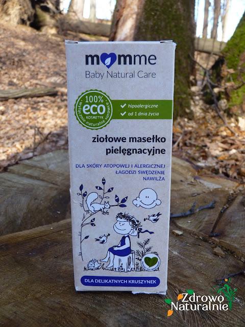 MomMe - Ziołowe masełko pielęgnacyjne