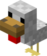 Minecraft chicken craft ideas.