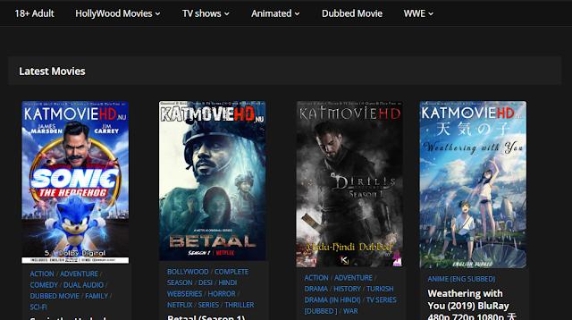 KatmovieHd 2020: Download All IIlegal Bollywood Hd Movies