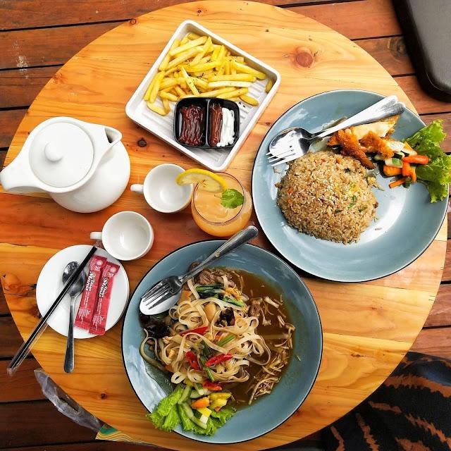 Menu di Arunika Coffee and Eats Tulungagung