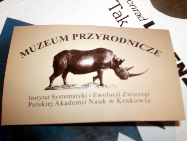Muzeum Instytutu Systematyki i Ewolucji Ssaków PAN w Krakowie