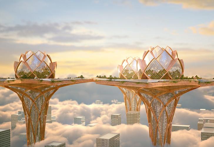 Al Fin Potpourri: City In the Sky vs. Floating Islands and ...