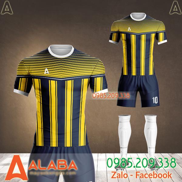 áo bóng đá màu vàng đen 2021