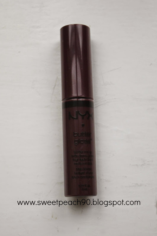 [REVIEW] NYX Butter Gloss - Devil's Food Cake
