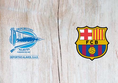 Deportivo Alavés vs Barcelona -Highlights 19 July 2020