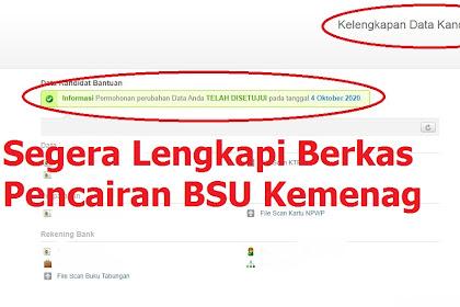 Wajib Tau ! BSU Kemenag Langsung Cair ke Rekening Masing-masing, Lengkapi Berkas Penerima Di Sini