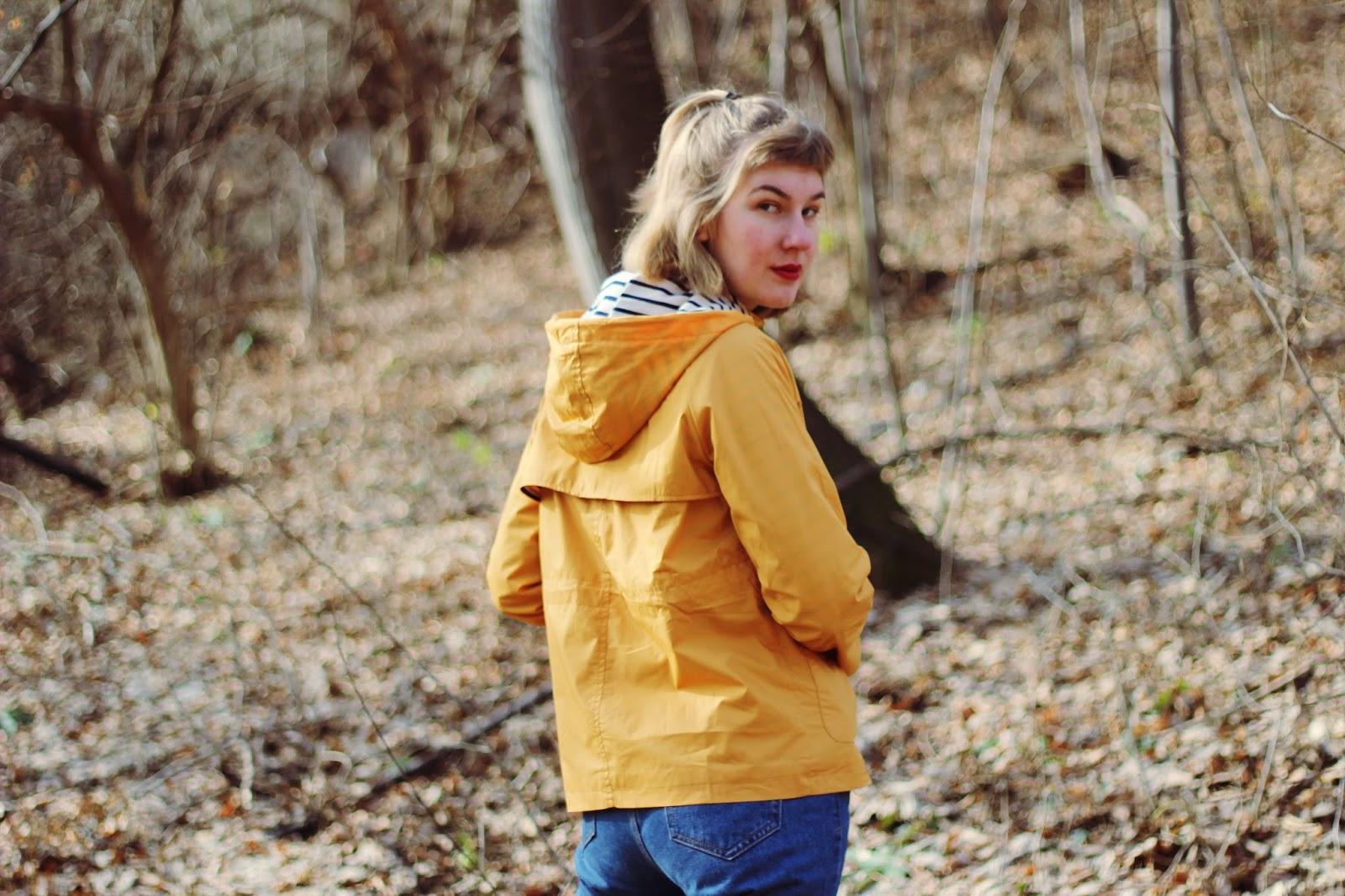 filipa canic, youarethepoet, filipa canic blog, you are the poet blog, zaful, yellow striped jacket,
