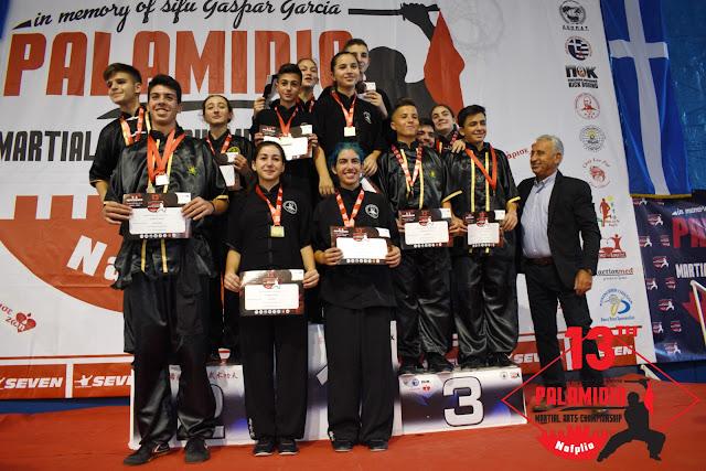 Άλλο ένα επιτυχημένο Παλαμήδειο πρωτάθλημα πολεμικών Τεχνών στο Ναύπλιο
