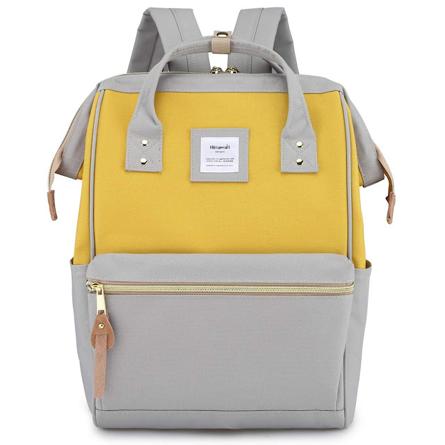 Himawari Travel, School Backpack with USB Charging Port