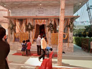 श्री गणेश मंदिर में वार्षिक पूजन समारोह का हुआ आयोजन   #NayaSaberaNetwork