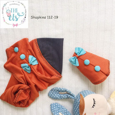 Tudung Shopkins the els
