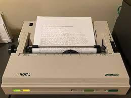 Daisy Wheel Printer