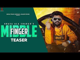 Middle Finger Lyrics in English -  Khasa Aala Chahar