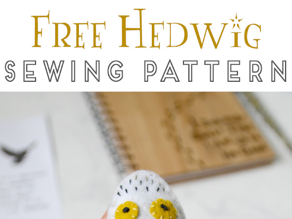 Harry Potter Felt Owl Sewing Tutorial and Pattern