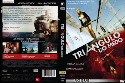 Triangulo do Medo (Triangle) DVD Capa