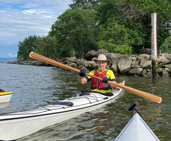 NorthPoint Paddles' Customer with Classic