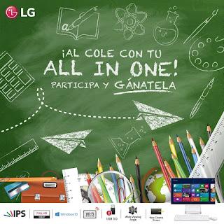 [Concurso] Gana una computadora LG All in One - Al Cole con tu All in One