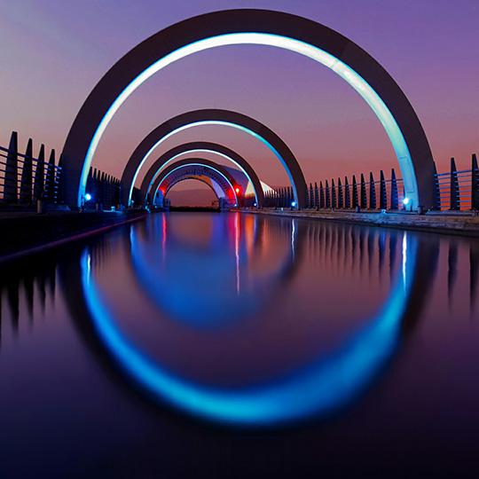 Color Bridge Wallpaper Engine
