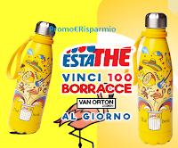 """Concorso """"Vinci la borraccia Estathè 2020"""" : 2.500 premi in palio"""