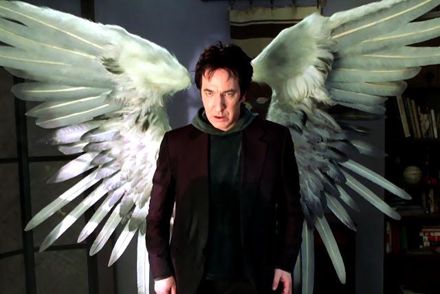 Alan Rickman è il Matatron di Dogma | Alan Rickman migliore attore britannico di sempre