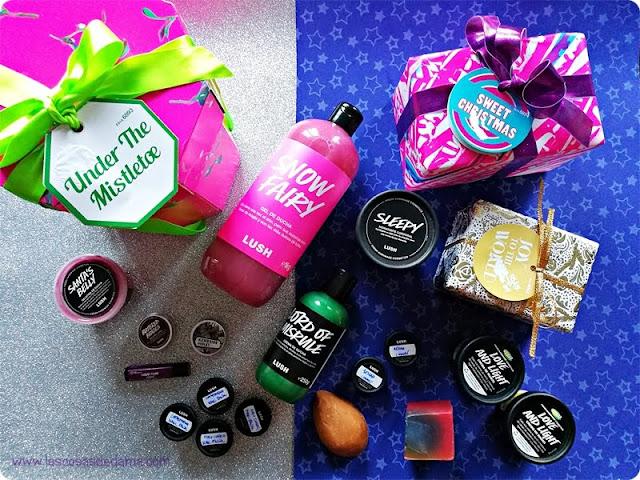 Haul Rebajas Lush navidad cosmetica belleza