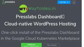 Presslab managed WordPress hosting, presslab web hosting
