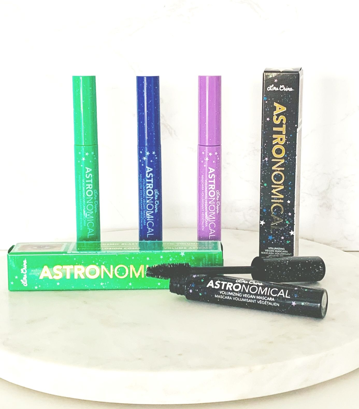 Lime Crime knows how to lift our spirits with their colourful Astronomical mascaras!